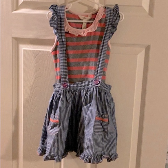 Matilda Jane On the Double skirt & tank top-size 6